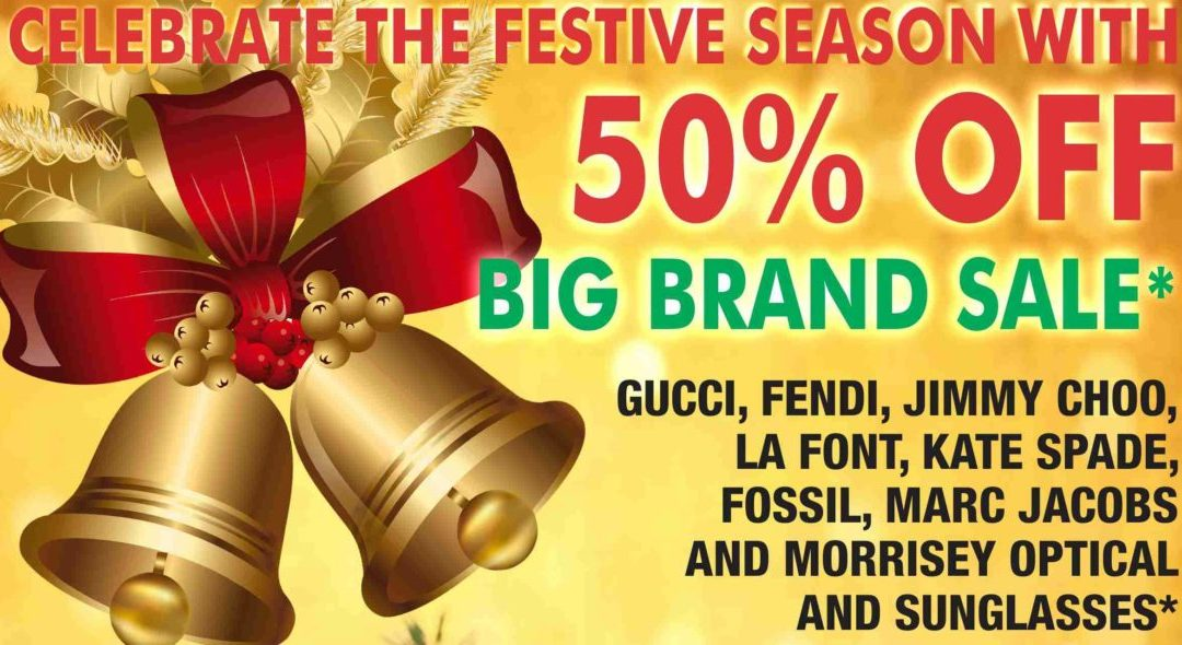 50% Off Big Brand Sale