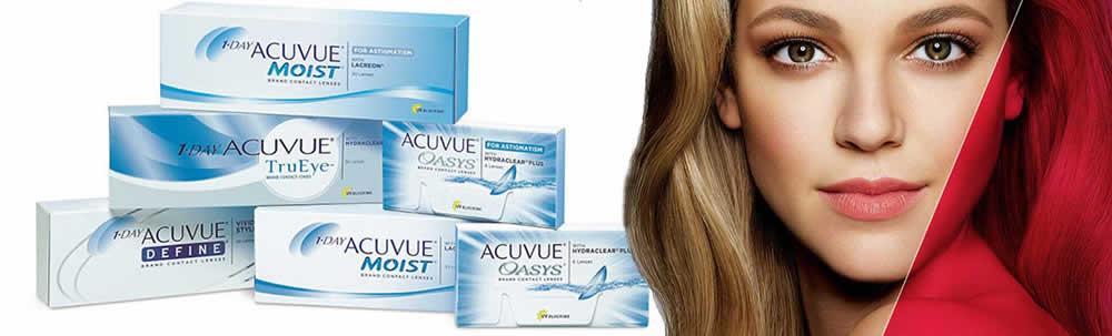 Acuvue Contact Lenses - North Lakes Optometrist Eye to Eye Optometry